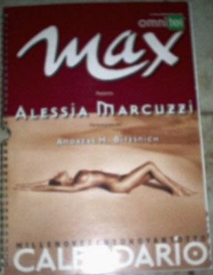 Alessia Marcuzzi Calendario.Calendario Max 1998 Alessia Marcuzzi Puntowrestling